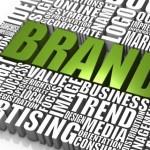 Il brand dell'azienda e il materiale promozionale
